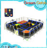 Indoor Big Air Trampolines with Basketball Hoops