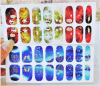 Fashionable Heaven and Hell Temporary Water Transfer Nail Sticker