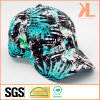 Quality Cotton 6 Panel Baseball Cap, Printing Fabric with Spandex