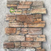 Rustic Quartzite Cement Wall Stone Veneer Panel and Corner