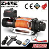 Synthetic Rope Electric Winch with 8288lbs Pulling Capacity