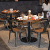 (SP-CS327) Vintage Industrial Metal Cafe Restaurant Chair and Table