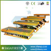 2ton for Wood Factory Lift Wood Roller Lift Conveyor Tables