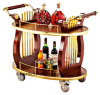 Hotel Wine Serving Cart Hotel Liquor Trolley