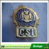 Factory Sale Us Police Cis Badge with Pin