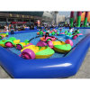 Inflatable Giant Swimming Pool with Paddle Boat