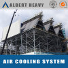 Joint Dry and Wet Oblique Air Cooler