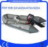 Sxv420A/470A/520A Fiberglass Rigid Inflatable Boat