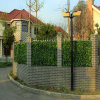Plastic Fake Artificial Green Leaf Fence IVY Leaves