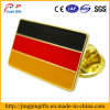 Germany Flag Shape Metal Badge with Pin Butterfly Clutch