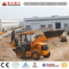Backhoe Loader Type and Wheel Loader, Wheel Excavator Moving Type Compact Backhoe Loader
