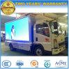 HOWO 6 Wheels Mobile LED Vehicle 5 Tons Advertising Truck