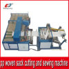 Automatic Plastic PP Woven Sack Cutting and Sewing Machine