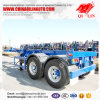 Heavy Truck 20FT Double Axles Skeleton Trailer for Kenya