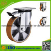 Heavy Duty Aluminium Center PU Wheel Caster