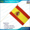 20X30cm Polyester Spain National Hand Flags (NF01F02028)