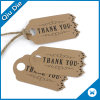 Fancy Design Promotional Gift Tag Kraft Printed Tags for Clothing