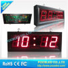 Indoor Temperature Clock Panel Display