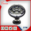 27W Oval CREE LED Work Lamp for Heavy Duty Vehicles