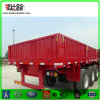 Chinese 50t Tri-Axle Side Wall Bulk Cargo Semi Trailer