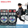 Fashionable Design Floorstanding Wireless Bluetooth Active Super Bass Speaker