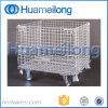 Wire Storage Metal Cage with Wheels