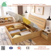 Modern China Foshan Malaysia MDF Wooden Bedroom Furniture Set Wood Plywood Box Bed