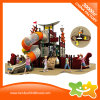 Pirate Ship Series Double-Deck Outdoor Amusement Park Tube Slide for Children