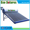 300L Vacuum Tube Solar Water Heaters with Side-Mounted Assistant Tank