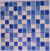 Mosaic Tile/Swimming Pool Mosaic/Crystal Glass Mosaic (HSP300)