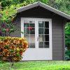 Eco Friendly Wood Plastic Composite Garden Playhouse (YMW-02)