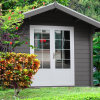 Eco Friendly Wood Plastic Composite Garden Playhouse (YMW-02)