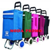 Shopping Trolley Bag with Colourful Wheels
