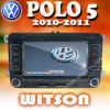 Witson Double DIN DVD for Polo 5 W2-D723V