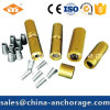 Single Hole Prestressed Anchor Connector for 12.7mm PC Strand