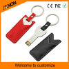 Key Shape Leather USB Flash Drive