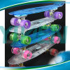 LED Light Skateboard Plastic PC Material Penny Skateboard