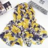Best Selling Wholesale Flourish Polyester Lady′s Scarf (HWBPS030)