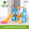 2017 Bear Style Hot Selling Indoor Plastic Kids Slide (HBS17020B)