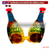 Birthday Bottle Glasses Novelty Promotional Gift Holiday Gifts (BO-5008)