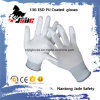 13G PU Coated ESD Touch Work Glove