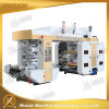 130mm/Min 4 Color Plastic Film Flexographic Printing Machine
