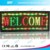 P7.62mm Dual Color Programmable Indoor Scrolling LED Sign