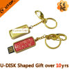 Promotional Gift Slide Doming Waterproof USB Flash Disk (YT-3224)