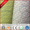 Weave Leather PVC Leather Handbags Leather Synthetic Leather Colorful 0.7-1.2mm Thickness Factory Making