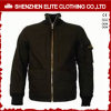 Wholesale Custom Made Black Flight Bomber Jacket (ELTBJI-24)