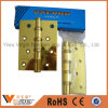 Chrome Plated Door Hinge Cabinet Hinges Antirust Durable Hinges