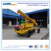 Fluid-Drive Pile Driver for Highway Guardrail Post Installation