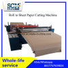 Roll to Sheet Cutter Machine, Cardboard Roll Cutting Machine