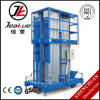 Three-Mast Ealuminum Alloy Aerial Work Platform for Bottom Price